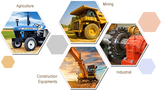 SAP Parts™ Pvt. Ltd is a leading manufacturer and exporter of Mechanical Face Seals world-wide in the industry of Agriculture, Industrial, Mining and Construction Equipments.